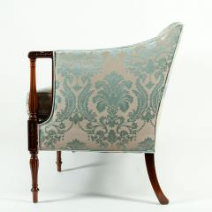 Late 19th Century Mahogany Framed Goose Down Filled Sofa - 1169309