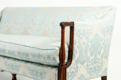 Late 19th Century Mahogany Framed Goose Down Filled Sofa - 1169310