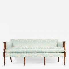 Late 19th Century Mahogany Framed Goose Down Filled Sofa - 1169574