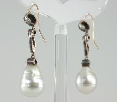 Late 19th Century Pearl and Diamond Earrings - 181590