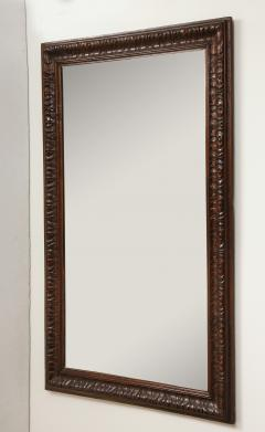 Late 19th Century Stained and Polished Fruitwood Mirror - 899522