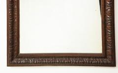 Late 19th Century Stained and Polished Fruitwood Mirror - 899524