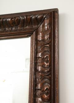 Late 19th Century Stained and Polished Fruitwood Mirror - 899525