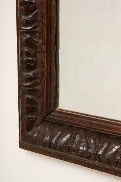 Late 19th Century Stained and Polished Fruitwood Mirror - 899527