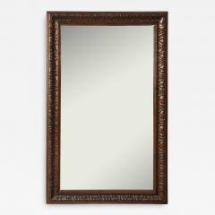 Late 19th Century Stained and Polished Fruitwood Mirror - 901598