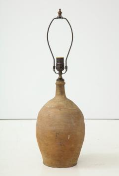 Late 19th Century Terracotta Vase Shaped Lamp - 1078658