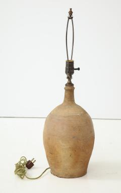 Late 19th Century Terracotta Vase Shaped Lamp - 1078661