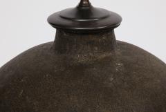 Late 19th Century Terracotta Wine Vessel Lamp - 1035871