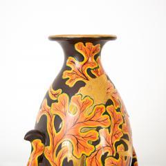Late 19th early 20th Century Japanese Meiji Satsuma ceramic vase  - 1233479