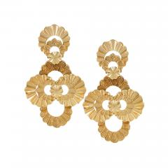 Late 20th Century Gold Earrings - 140665