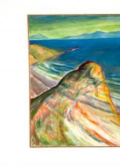 Late 20th Century Vintage California Seascape - 1952800