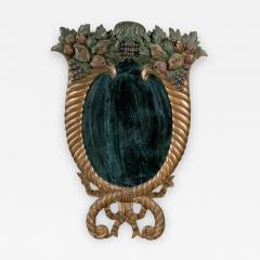 Late Federal Carved Looking Glass - 273206