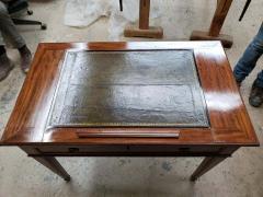 Late Louis XVI Mahogany Architects Table Late 18th Century - 1262147
