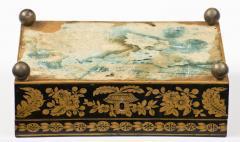Late Regency Chinoiserie Penwork Box Circa 1830 - 117290