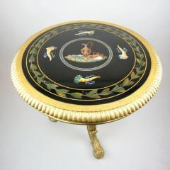 Late Regency gilt wood centre table attributed to Gillows - 826819