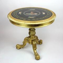 Late Regency gilt wood centre table attributed to Gillows - 826820