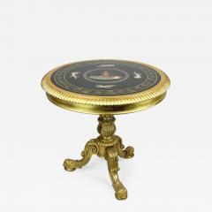 Late Regency gilt wood centre table attributed to Gillows - 871633