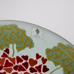 Laura Diaz de Santillana Laura de Santillana Italy Geranio Murrine Plate - 1508805
