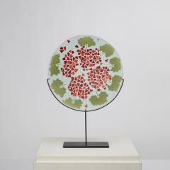 Laura Diaz de Santillana Laura de Santillana Italy Geranio Murrine Plate - 1508806