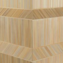 Laura Portarrieu PALEA PL01 Straw marquetry floor lamp - 1304972