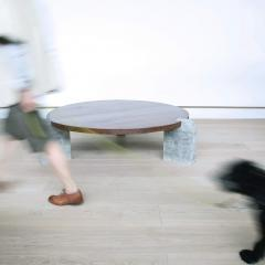 Lawton Mull Circular Monument Table by Lawton Mull - 1941423