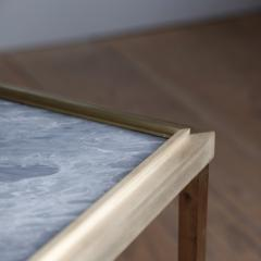 Lawton Mull Daedalus Table in Brass and Stone by Lawton Mull - 1128150