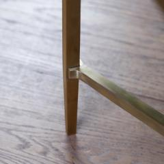 Lawton Mull Daedalus Table in Brass and Stone by Lawton Mull - 1128152