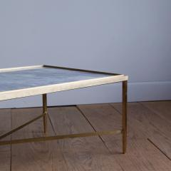 Lawton Mull Daedalus Table in Brass and Stone by Lawton Mull - 1128153