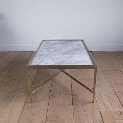 Lawton Mull Daedalus Table in Brass and Stone by Lawton Mull - 1128154