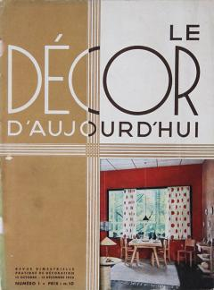 Le D cor DAujourdhui Very Rare Magazine Collection 1933 1953 - 792074