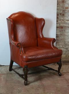 Leather Wingback Chair - 1132691
