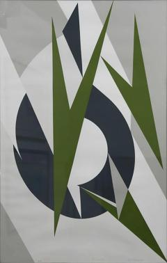 Lee Lenore Krasner Lee Krasner Embrace A P Print Krasner inscribed as gift to John Dewey  - 613412