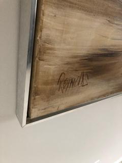 Lee Reynolds Lee Reynolds Large Abstract Painting Vanguard Studio - 1385374