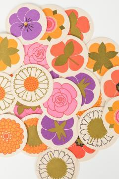 Lena Eklund Lena Eklund Flower Coasters Denmark 60s - 2067345
