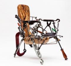 Leo Capote Contemporary Chair Ferramenta Tool by Brazilian Designer Leo Capote - 1222251