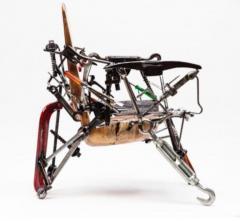 Leo Capote Contemporary Chair Ferramenta Tool by Brazilian Designer Leo Capote - 1222252