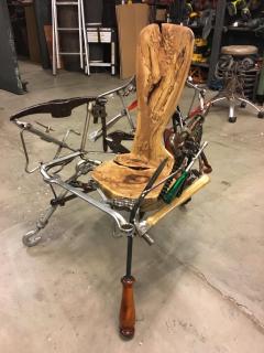 Leo Capote Contemporary Chair Ferramenta Tool by Brazilian Designer Leo Capote - 1222253