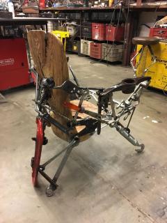 Leo Capote Contemporary Chair Ferramenta Tool by Brazilian Designer Leo Capote - 1222255