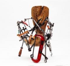 Leo Capote Contemporary Chair Ferramenta Tool by Brazilian Designer Leo Capote - 1222256