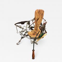 Leo Capote Contemporary Chair Ferramenta Tool by Brazilian Designer Leo Capote - 1222917