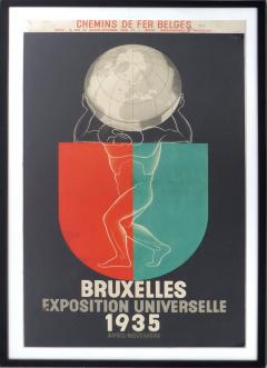 Leo Marfurt 1935 Leo Marfurt Bruxelles Exposition Poster - 529570
