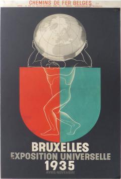 Leo Marfurt 1935 Leo Marfurt Bruxelles Exposition Poster - 530095
