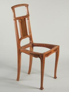 Leon Benouville Leon Benouville Single Art Nouveau Side Chair - 242950