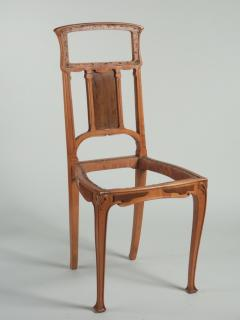 Leon Benouville Leon Benouville Single Art Nouveau Side Chair - 242951