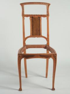 Leon Benouville Leon Benouville Single Art Nouveau Side Chair - 242952