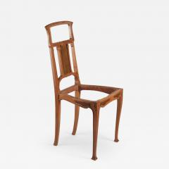 Leon Benouville Leon Benouville Single Art Nouveau Side Chair - 243265
