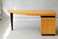 Leon Rosen Triangular Memphis Style Inspired Lacquered Boca Desk by Leon Rosen for Pace - 563106