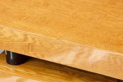 Leon Rosen Triangular Memphis Style Inspired Lacquered Boca Desk by Leon Rosen for Pace - 563107