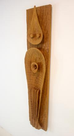Leonard Setziol Abstract Phoenix Oak Wall Sculpture by Northwest Sculptor Leonard Setziol - 1773225