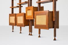 Leonardo Fiori Italian Wall Unit by Leonardo Fiori for ISA Bergamo 1960s - 2019192